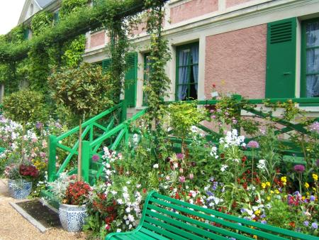 Giverny area Gardens including