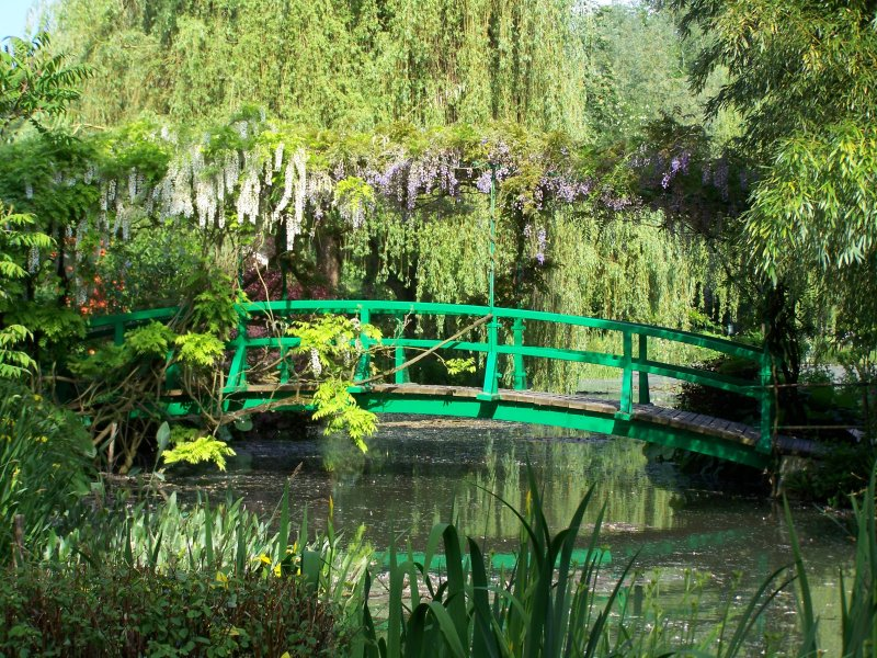 Claude monet 39 s garden at giverny for Jardin giverny