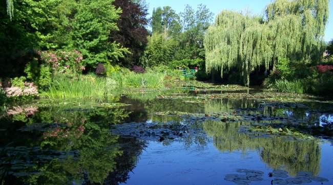 Visite guidee des jardins de monet par les guides for Jardin giverny