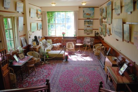 The First Studio Of Monet In His House In Giverny