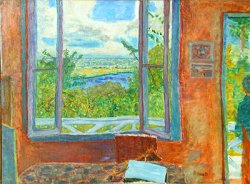 Giverny museum Bonnard in Normandy exhibit