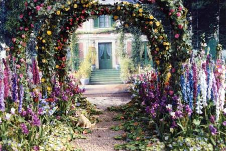 Miniatures of Monet\'s home by Cheryl Miller