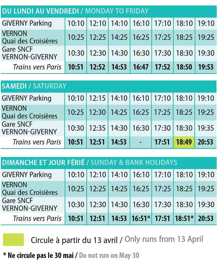 Paris Giverny How to get to giverny from paris