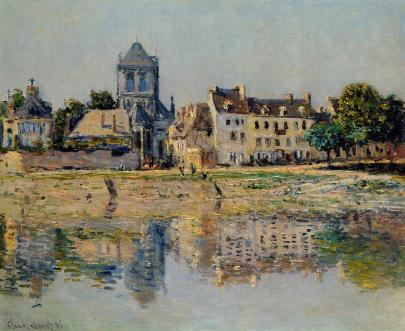 Vernon Church by Claude Monet